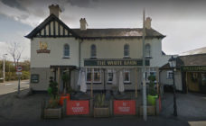 the White Barn pub in Cheshire