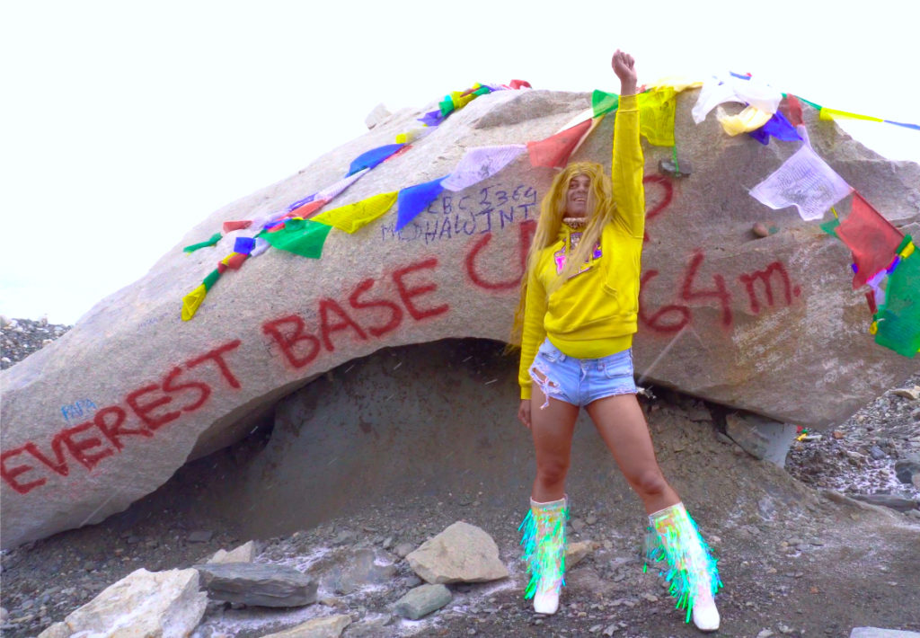 Beyoncé Experience at Everest Base Camp