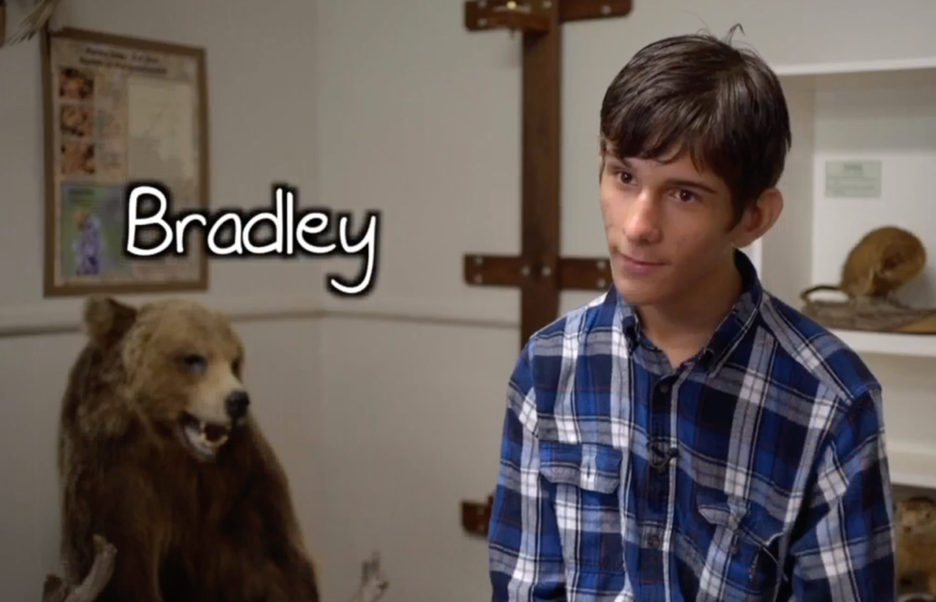 Bradley, a 16-year-old teen from Michigan, really wants to be adopted by two dads. (Screenshot via WXYZ)