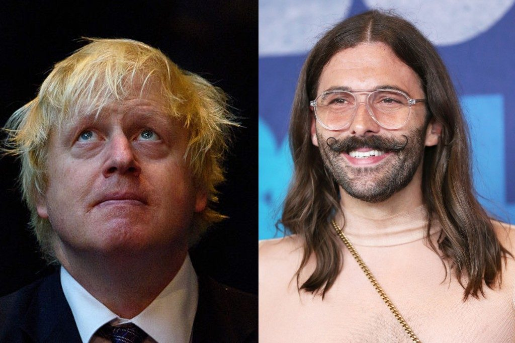 Jonathan Van Ness knows exactly how he'd fix Boris Johnson's hair