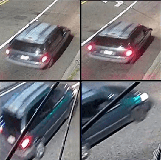 "Jacksonville authorities released stills of the minivan, but did not release the full footage because it was too ""graphic"". (Jacksonville Sheriff's Office)"
