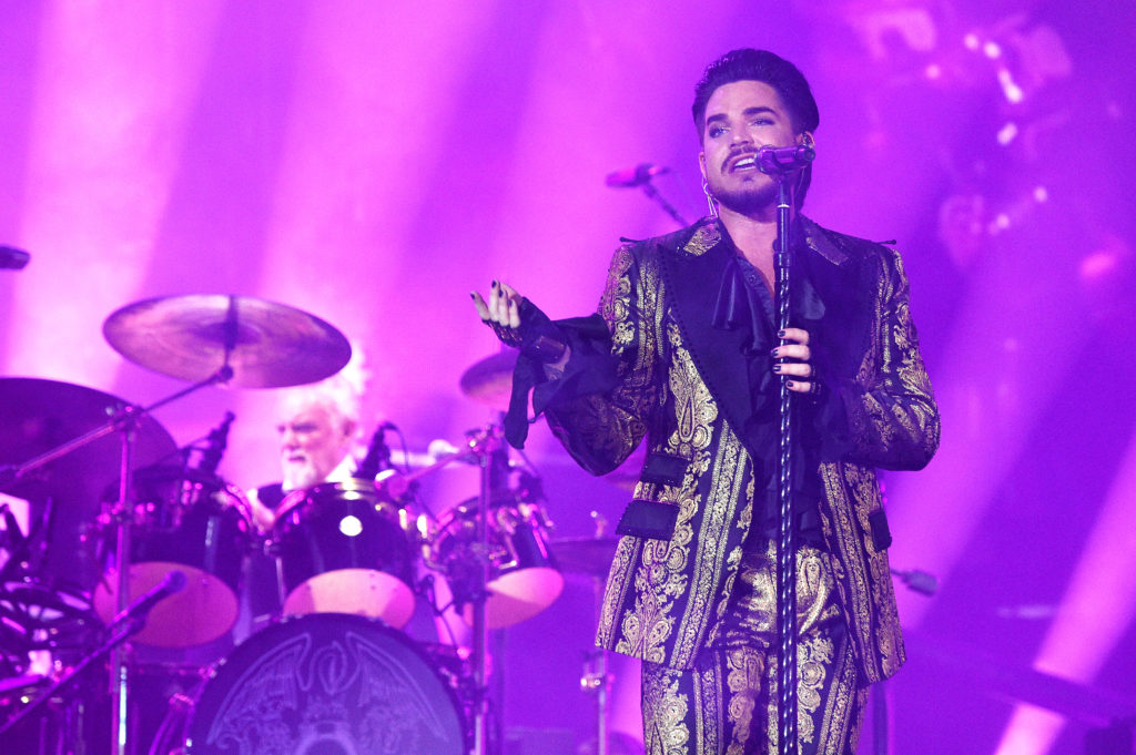 Adam Lambert says being out as non-binary is like being gay 10 years ago