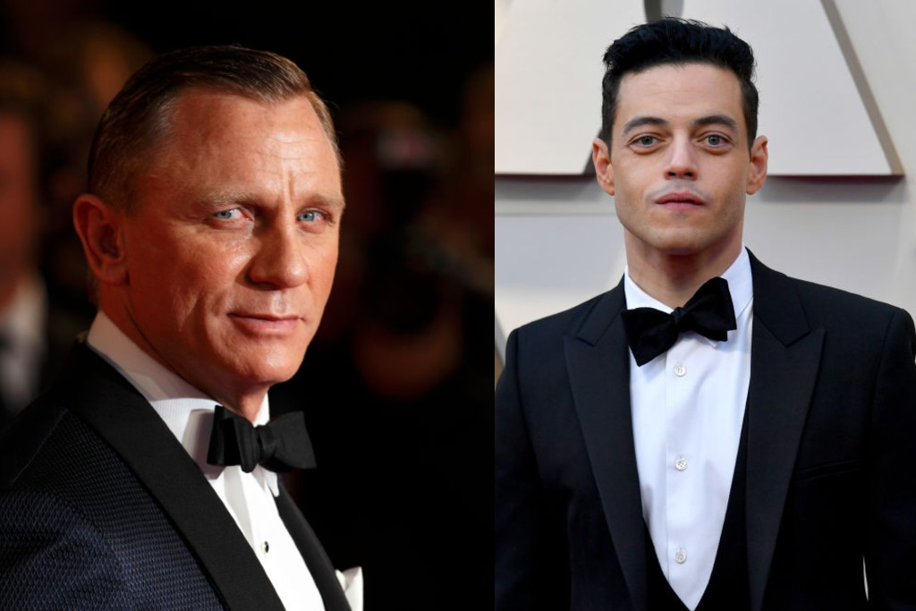 Daniel Craig and Rami Malek shared a kiss on set of new James Bond movie No Time to Die
