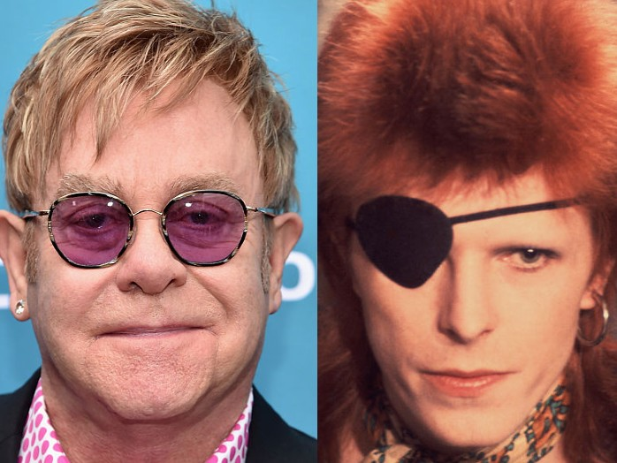 David Bowie was 'out of his mind on coke' during infamous takedown of Elton John