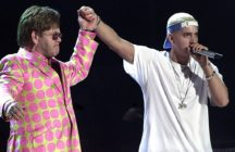 Eminem bought Elton John a set of cockrings for his wedding