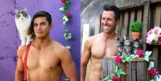 The firefighters calendar features the internet's two favourite things: hot men and kittens