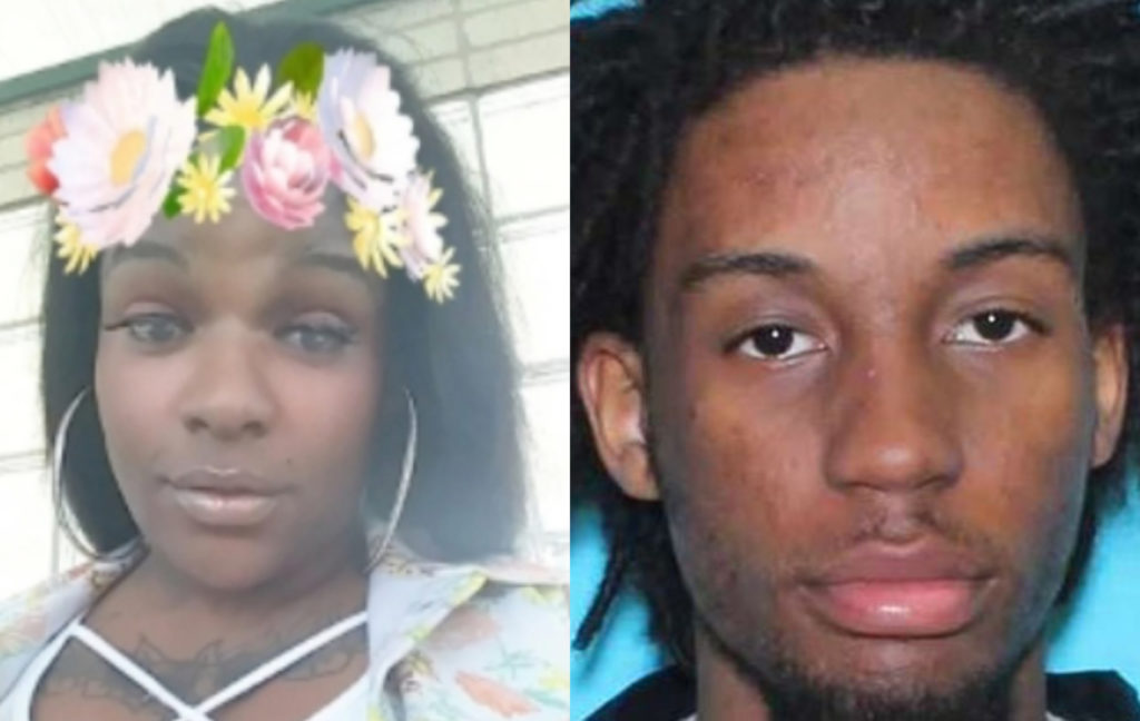 Itali Marlowe (L) and her alleged killer, Raymond Williams. (Planet Transgender / Houston Police Department)