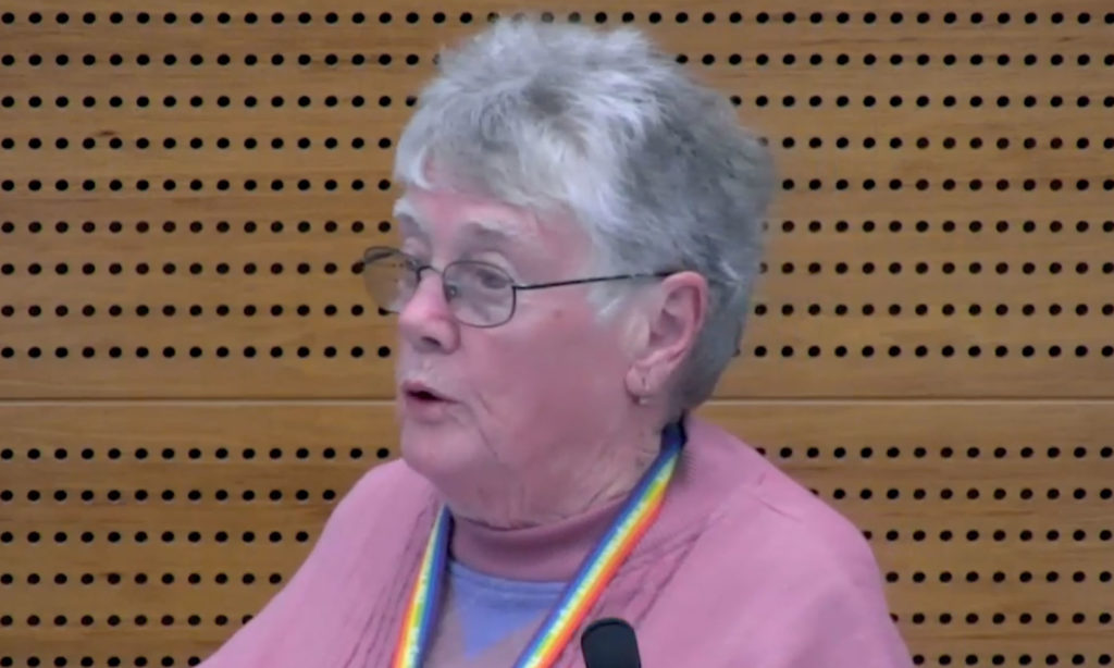 An 84-year-old who survived conversion therapy was banned from volunteering at a retirement community because of her sexuality