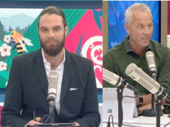 The AM Show host Ryan Bridge was outed as gay by co-host Mark Richardson on live television