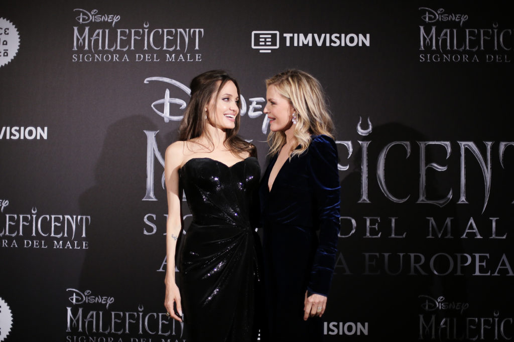 Angelina Jolie And Michelle Pfeiffer Just Kissed And The