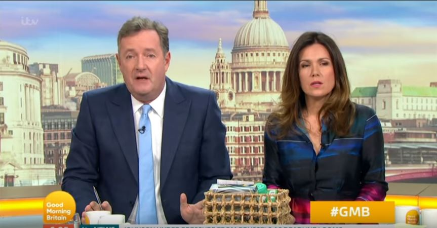 Are you a plant? Broccoli man riles Piers Morgan