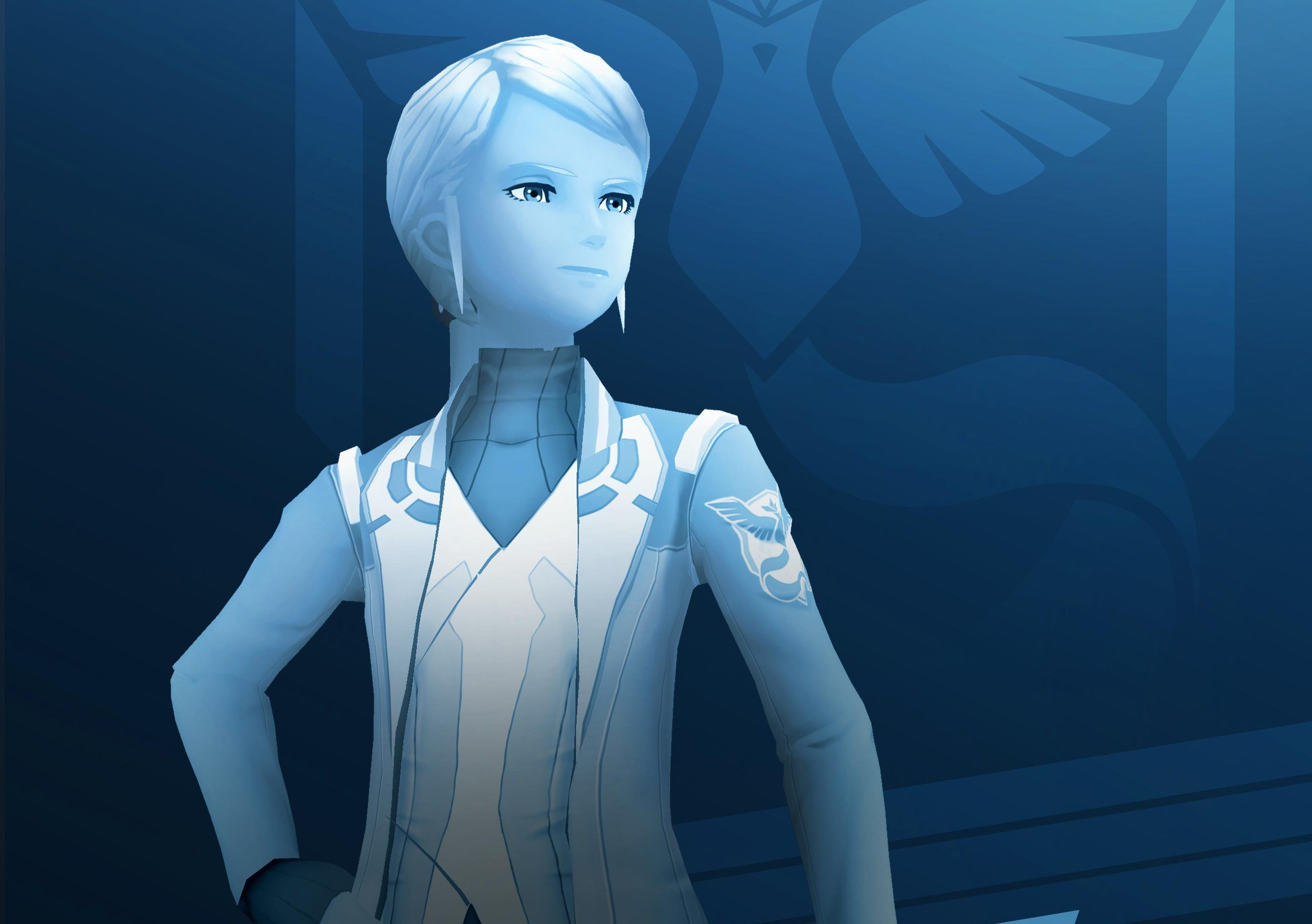 Blanche in Pokémon Go!