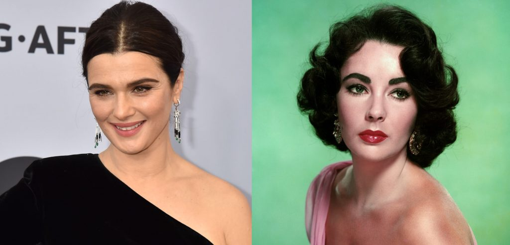 Rachel Weisz will play Elizabeth Taylor in the new biopic