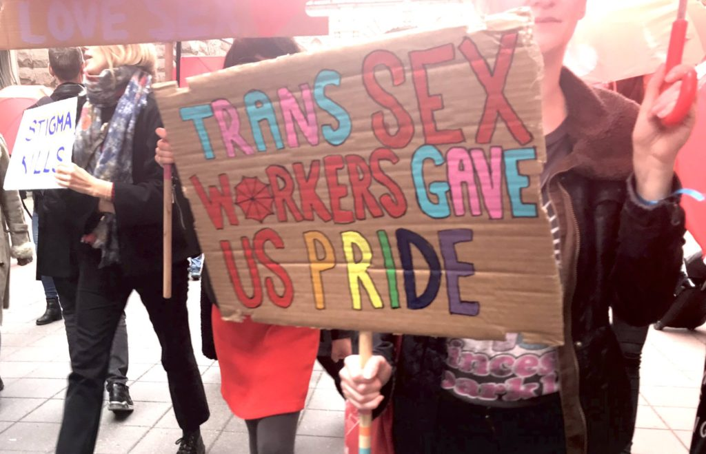Trans women selling sex to survive the pandemic, thanks to Trump