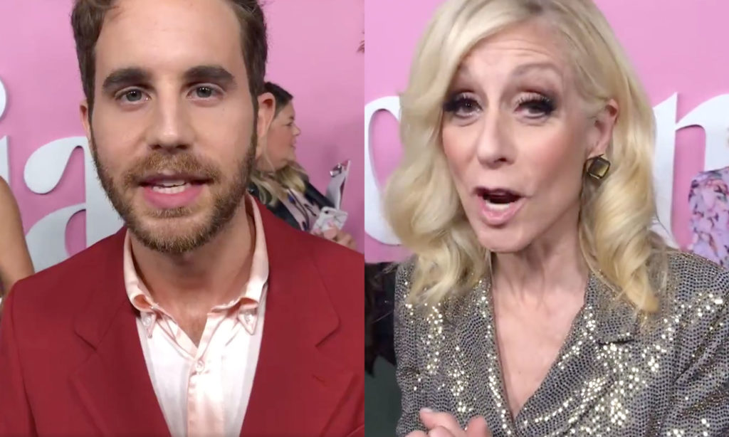 The Politician's Ben Platt and Judith Light