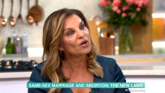 Andrea Williams on This Morning. (Screen capture via ITV)