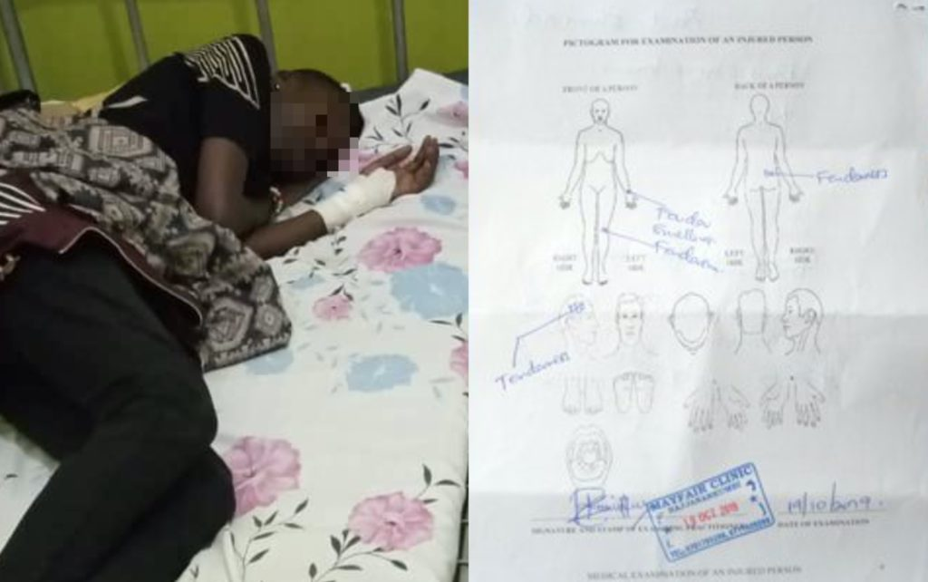 After discovering she is a lesbian, a Ugandan doctor allegedly pummelled his patient with an iron bar. (Twitter)