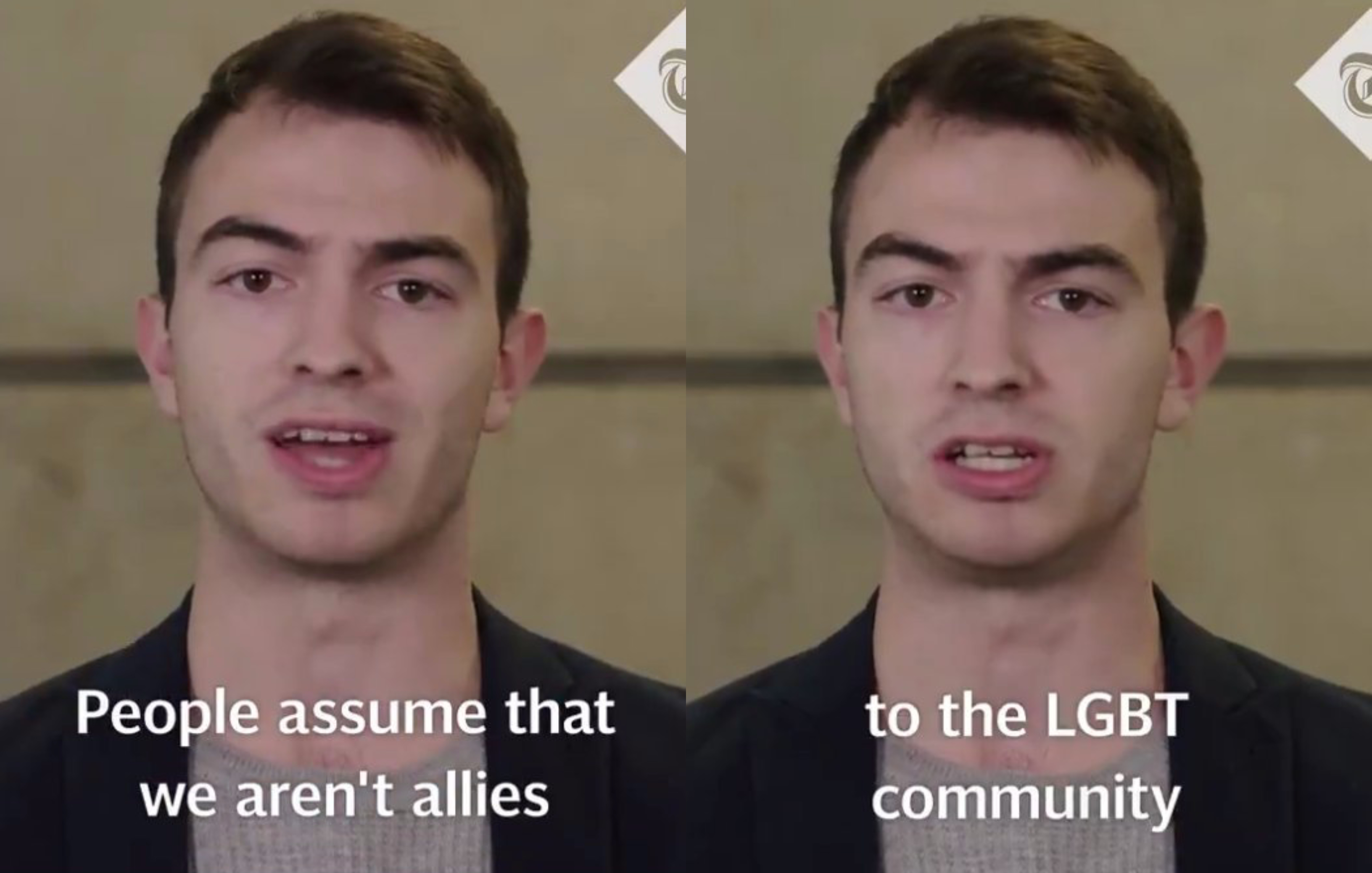 A viral video of young UK Conservatives opening up about he abuse they face has divided Twitter. (Screen capture via Telegraph Politics/Twitter)