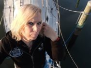 Sabreena Lachlainn is aiming to be the first trans woman to sail around the world. (Facebook)