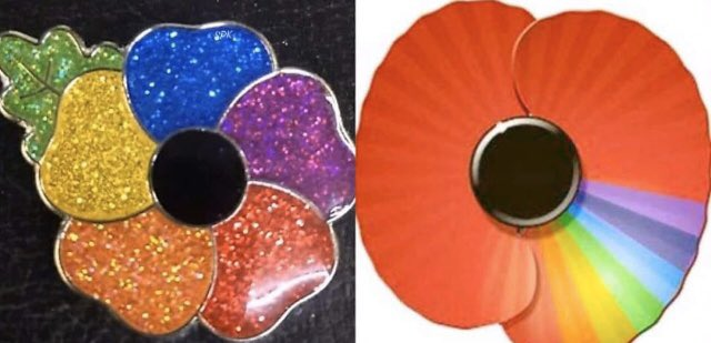'Rainbow poppies' that aren't actually a thing have cultivated controversy. (Twitter)