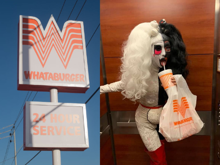 Drag queen Erika Klash was turned away from Whataburger
