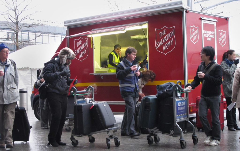 The Salvation Army. (Peter Macdiarmid/Getty Images)
