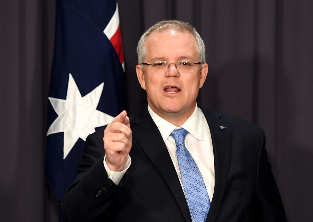 Prime Minister Scott Morrison. (Tracey Nearmy/Getty Images)