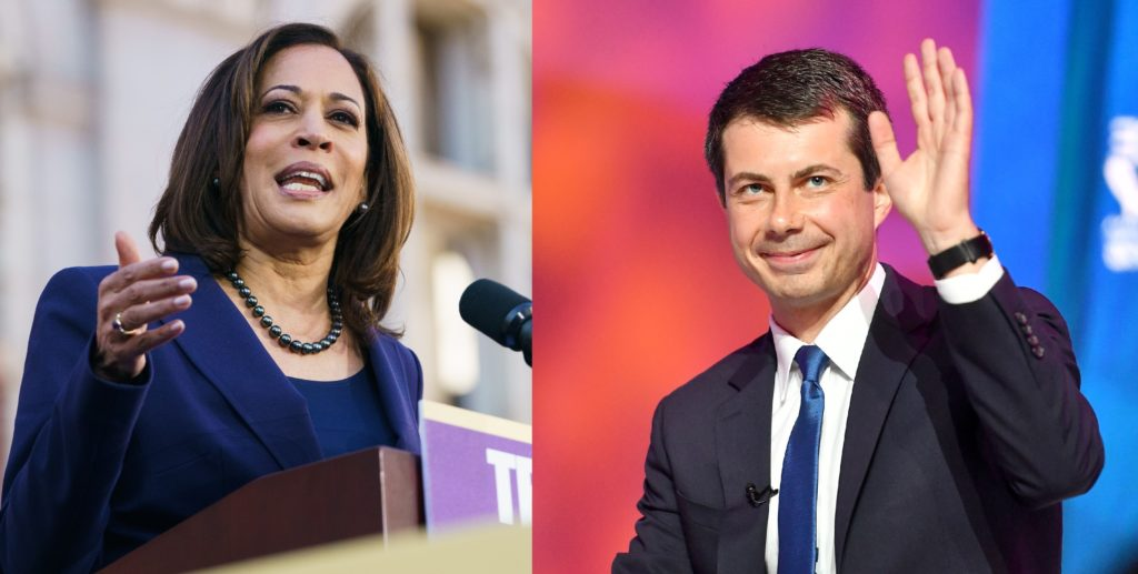 Kamala Harris launched an attack on Pete Buttigieg