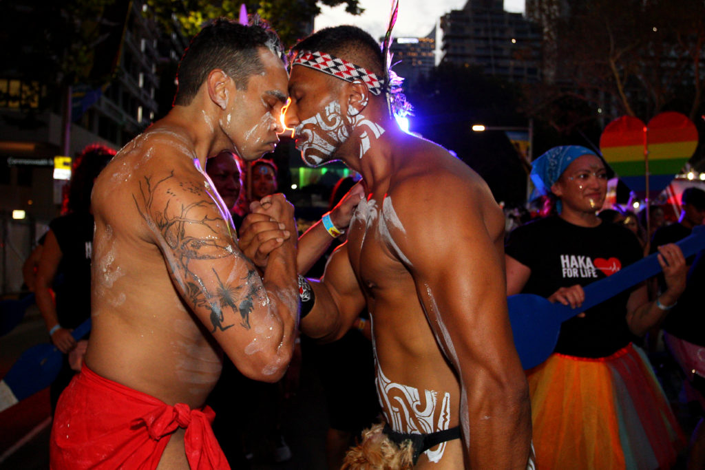 Mardi Gras parade in Sydney, Australia. (Lisa Maree Williams/Getty Images)