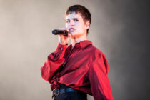 Christine and the Queens performs in concert during Primavera Sound Festival on May 30, 2019 in Barcelona, Spain.