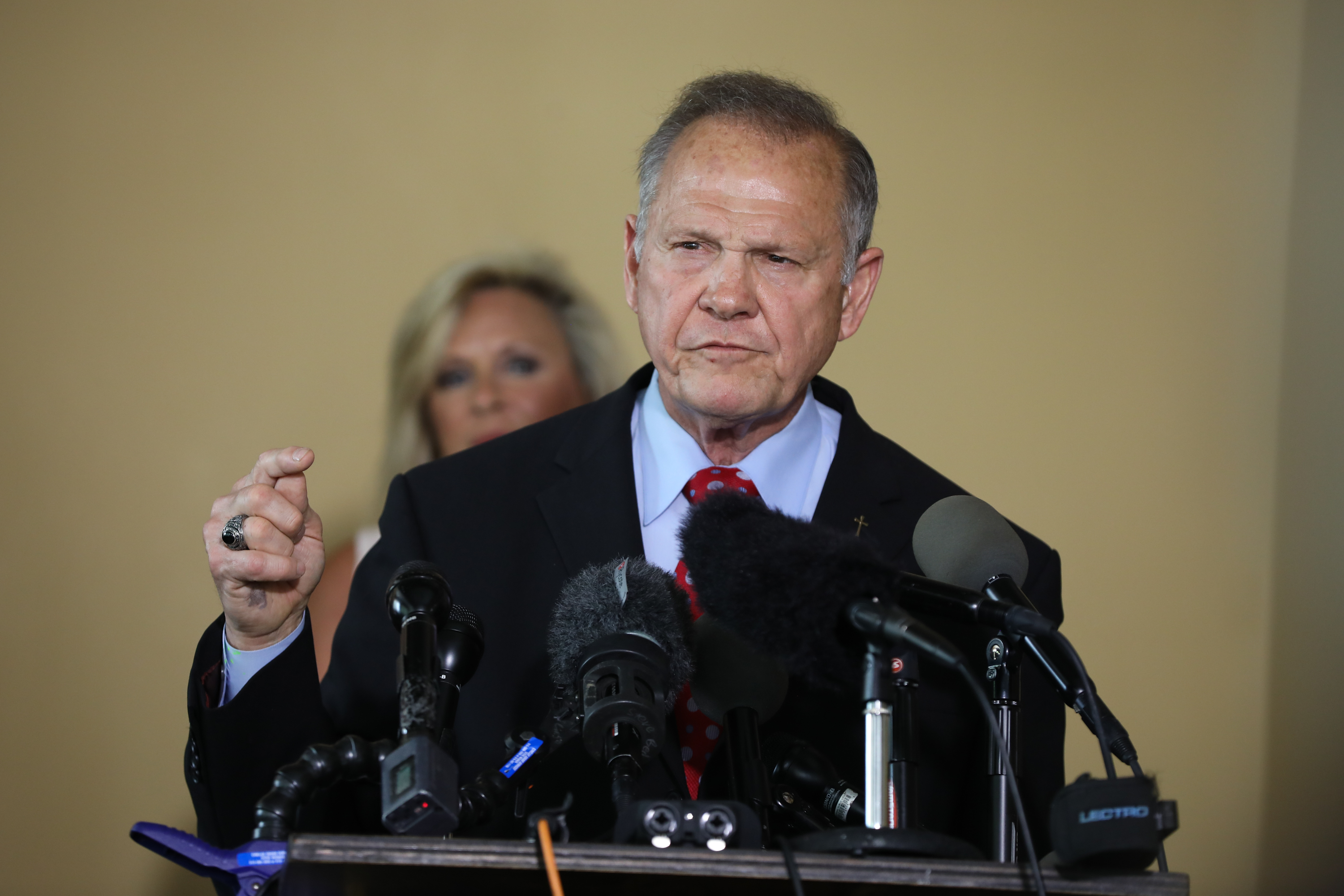 Roy Moore announces his plans to run for U.S. Senate in 2020 on June 20, 2019