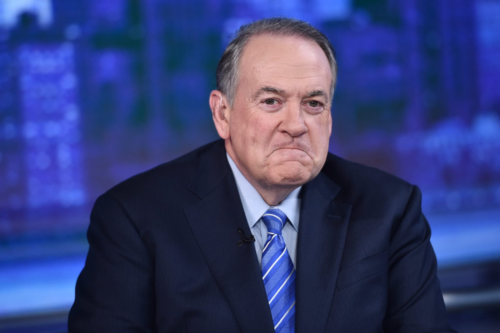Mike Huckabee is very upset about Chick-fil-A