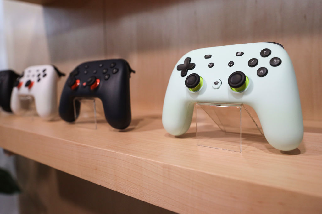 Google Stadia games controllers