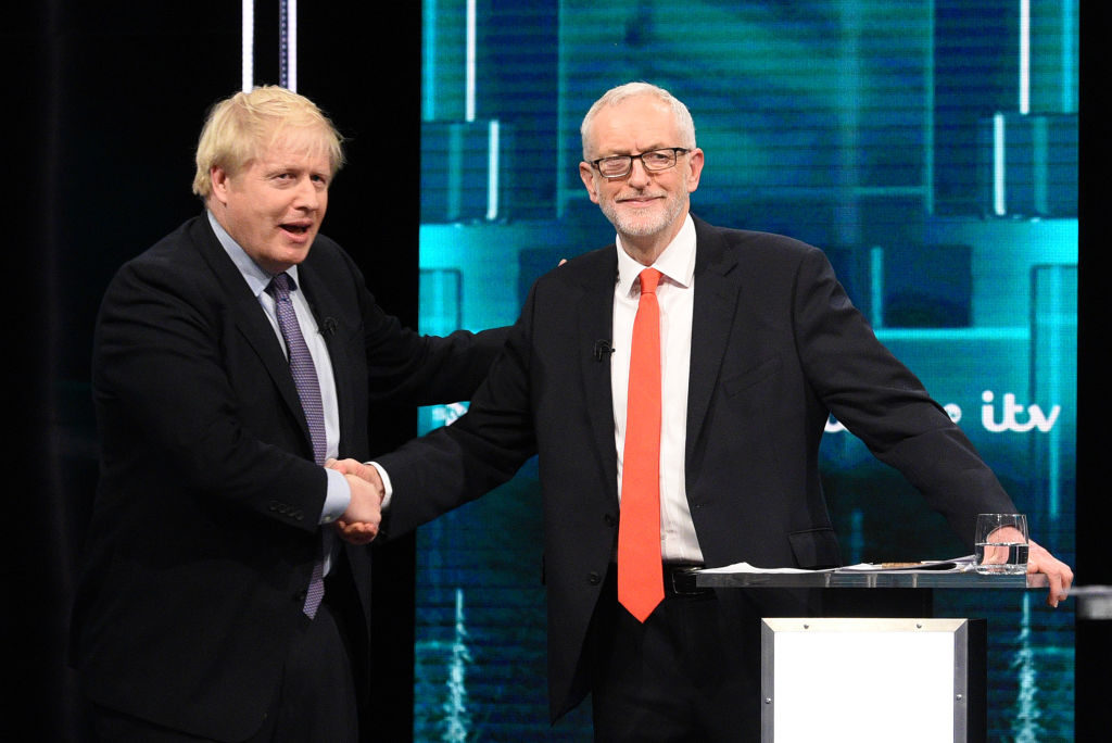Prime Minister Boris Johnson and Leader of the Labour Party Jeremy Corbyn