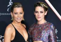 Elizabeth Banks and Kristen Stewart attend the premiere of Charlie's Angels