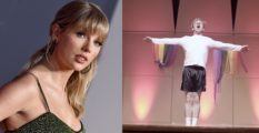 Taylor Swift made Reid Arthur's day after his lip sync