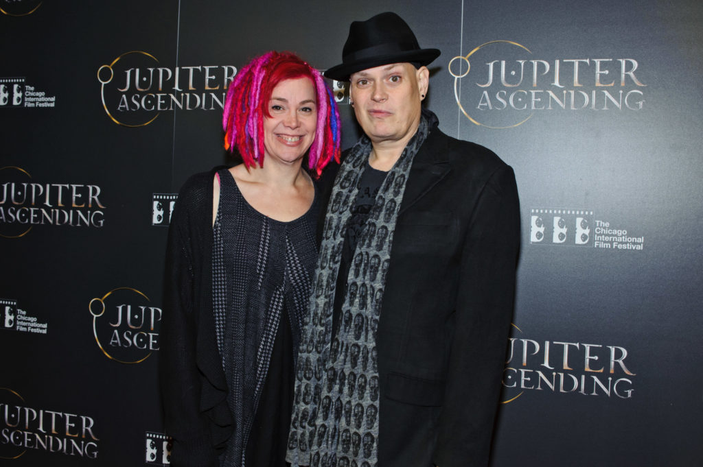Writers and directors Lana (L) and Lily Wachowski. (Timothy Hiatt/Getty Images)
