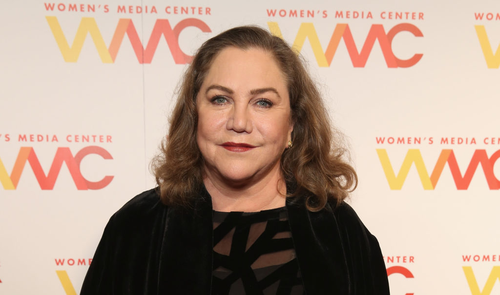 Actress Kathleen Turner played Chandler Bing's father on the Tv series Friends. (Cindy Ord/Getty Images for The Women's Media Center)