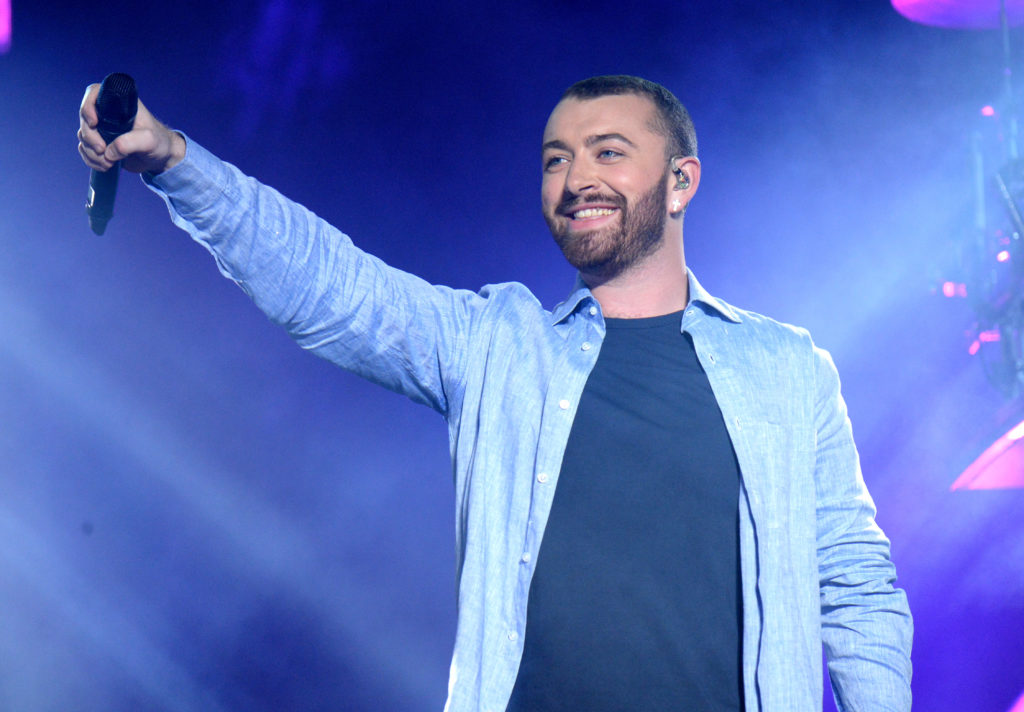 Non-binary Singer Sam Smith. (Kevin Mazur/Getty Images for Coachella)