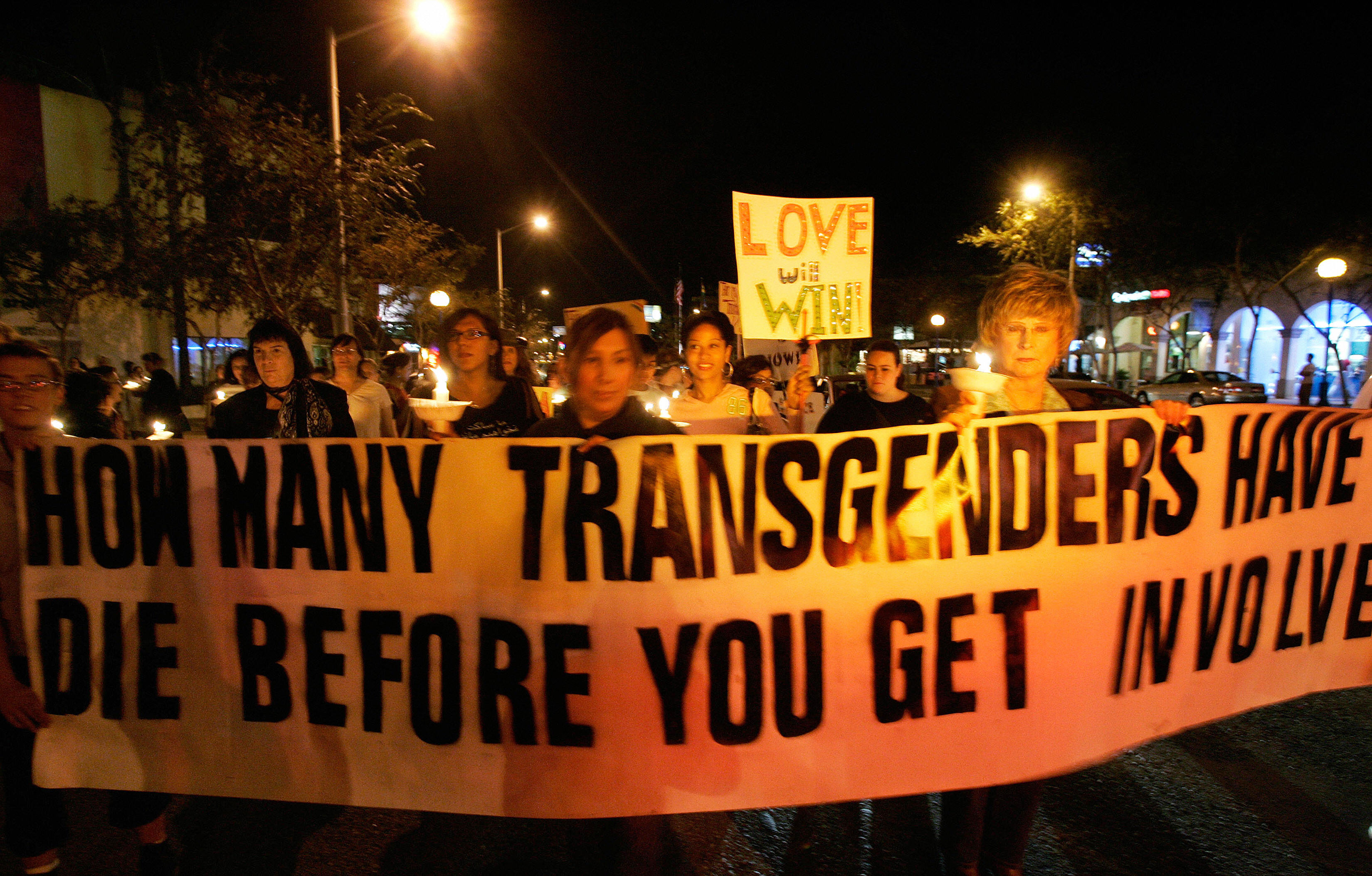 Trans people are being murdered at the highest rate on record, with four innocent lives taken in the space of a week