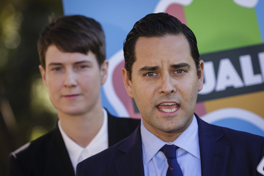 Alex Greenwich from Australian Marriage Equality. (Brook Mitchell/Getty Images)