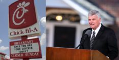 Trump pastor Franklin Graham says he received 'personal' assurances from the CEO of Chick-fil-A