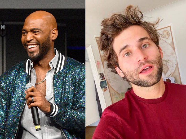 Jake Borelli Karamo Brown