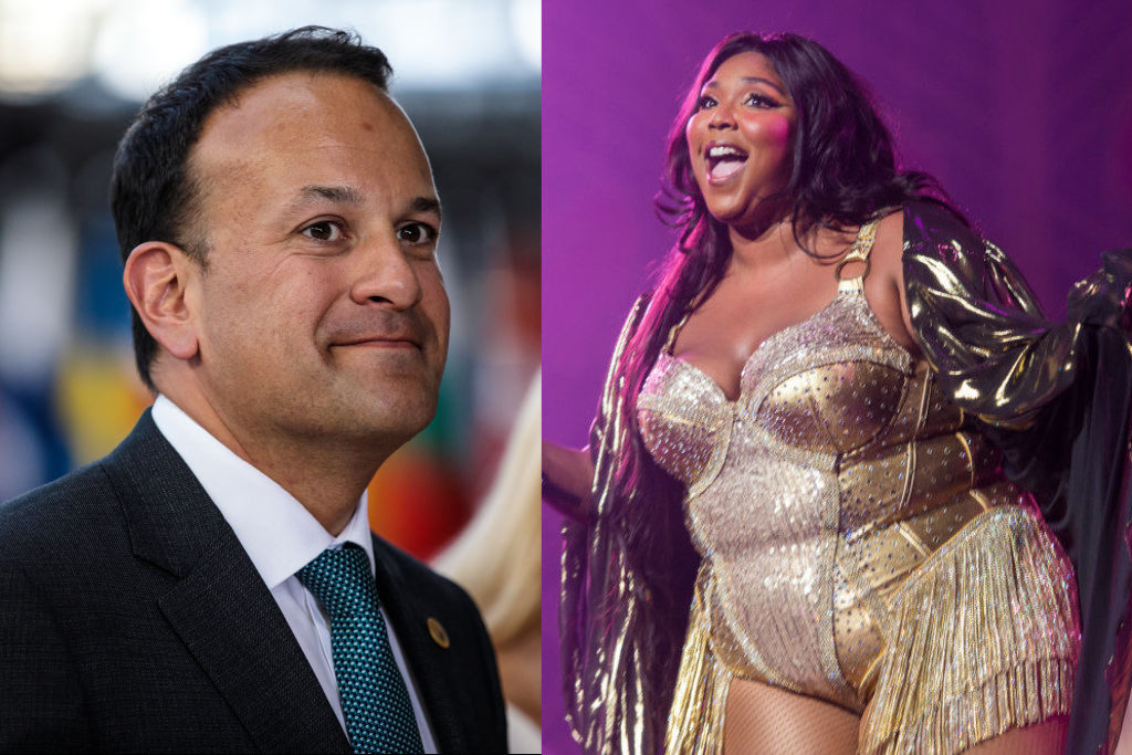 Lizzo and Leo Varadkar