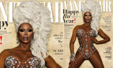 RuPaul on the cover of Vanity Fair.