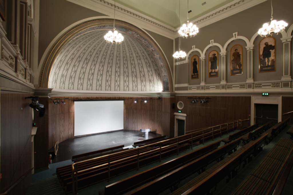 The V&A lecture theatre. (Supplied)