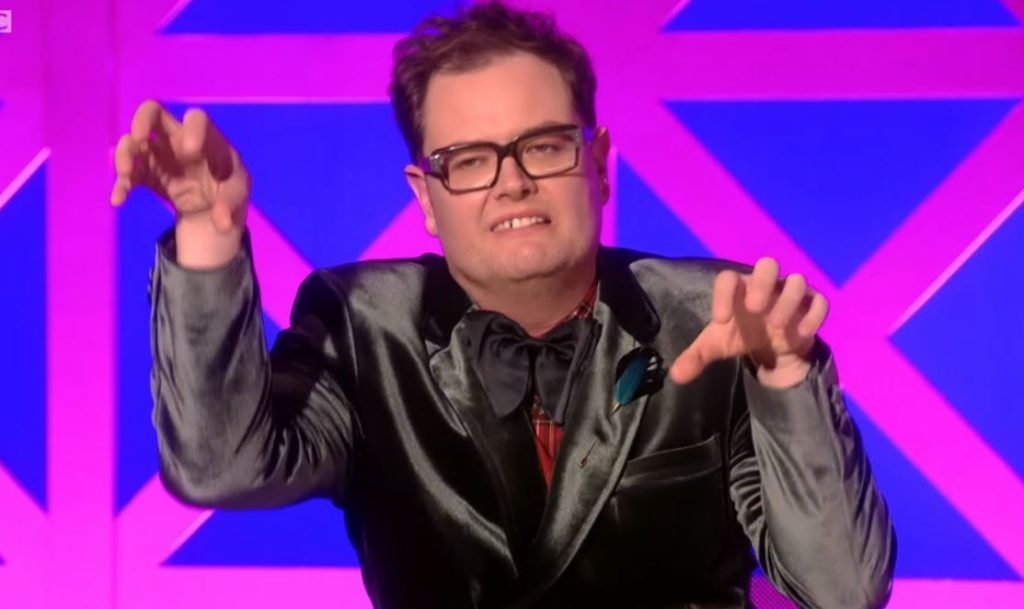Alan Carr on Drag Race UK