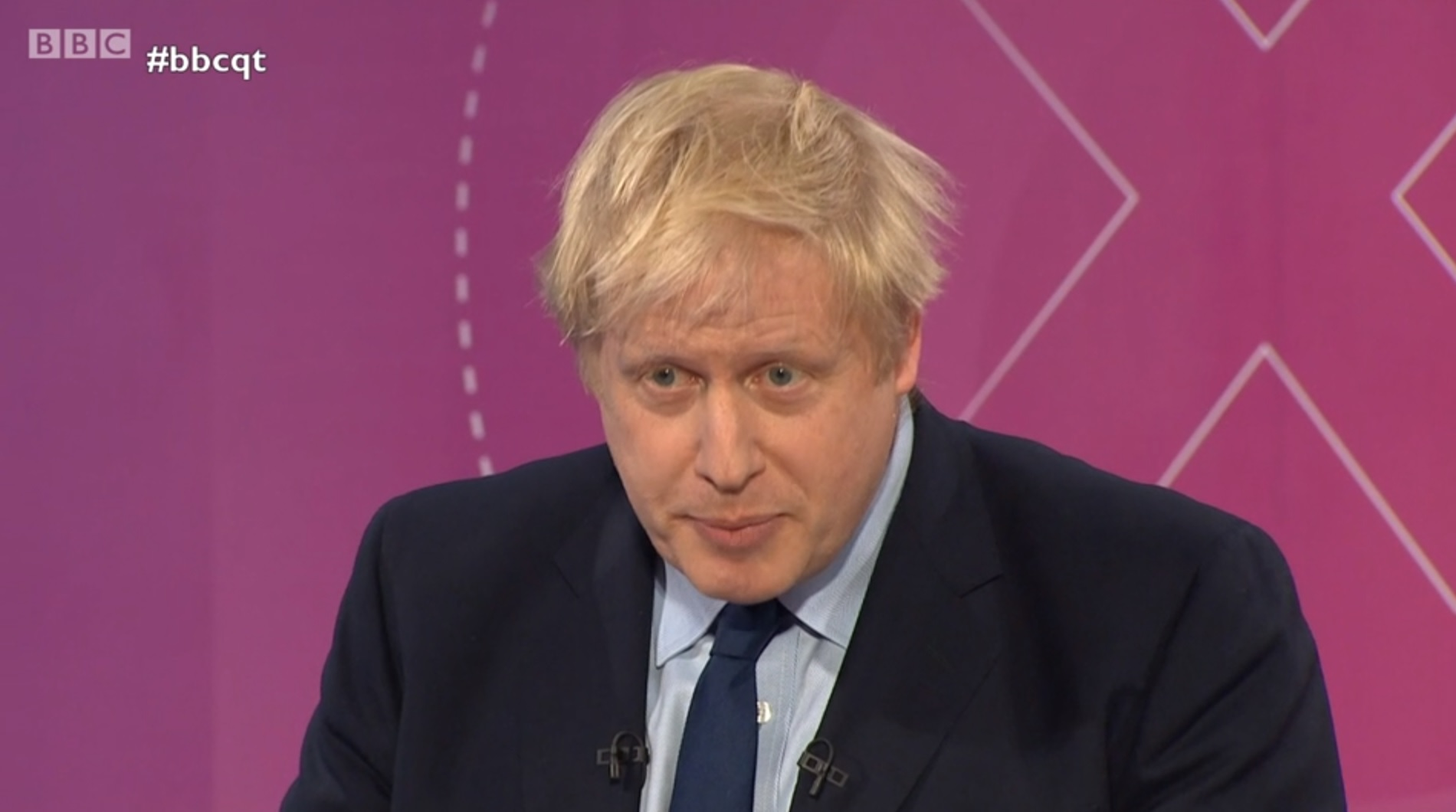 Boris Johnson appeared on BBC Question Time ahead of the December 12 election