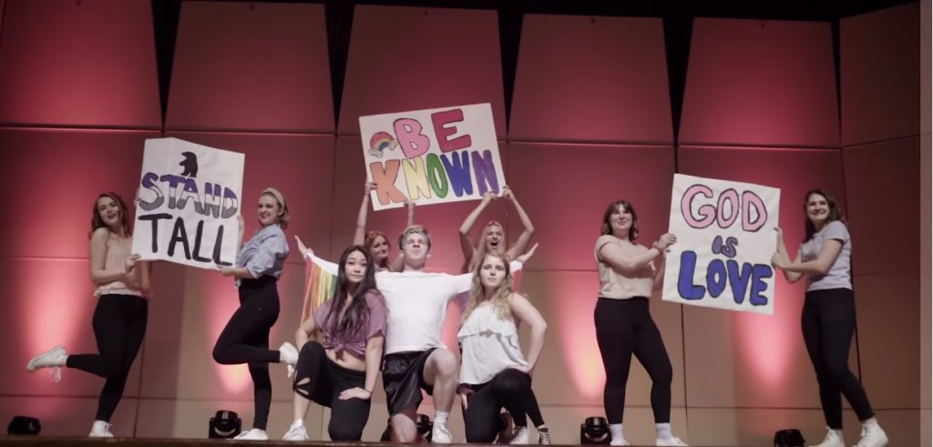 Student comes out to Christian university with stunning Taylor Swift lip sync