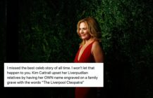 Kim Cattrall: Liverpool's Cleopatra. (Tim P. Whitby/Getty Images)